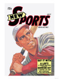 New Sports Magazine: Say It with a Left Premium Giclee Print