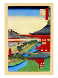 Kameido Shrine Posters by Ando Hiroshige