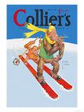 Skiing Monkeys