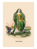 Nenuphar Posters by J.J. Grandville