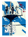 The Navy Wants Men Poster