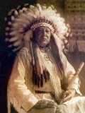 Thunderbird, Cheyenne Chief Photo by Carl And Grace Moon