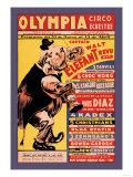 Olympia Circo Ecuestre Poster
