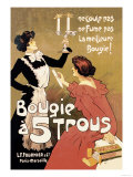 Bougie a 5 Trous Print by Misti 