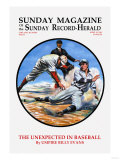 The Unexpected in Baseball Poster