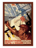 Gewerbe Poster von A. Vedenev