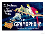 Le Gramophone Prints by Louis Bombled