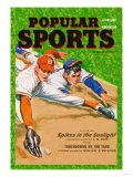 Popular Sports: Spikes in the Sunlight Poster