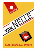 Van Nelle Coffee and Tea Poster