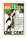 The Bulletin, One Cent Pósters