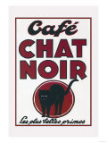Cafe Chat Noir Prints