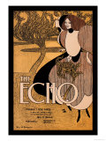The Echo Posters by Will H. Bradley