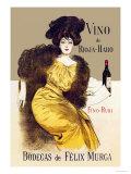 Ramon Casas - Vino de Rioja-Haro Obrazy
