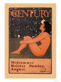 The Century: Midsummer Holiday Number, August Kunstdrucke von Maxfield Parrish