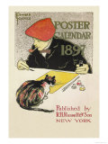 Poster Calendar 1897 Print by Edward Penfield