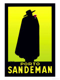 Porto Sandeman Poster by Georges Massiot