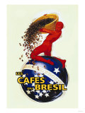 The Coffees of Brazil Posters