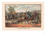 U.S. Army Horse Artillery, 1865 Posters by Arthur Wagner
