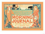 Morning Journal, A Modern Newspaper Posters