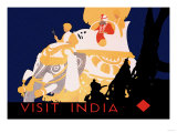 Visit India Posters