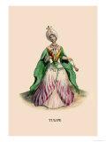Tulipe Prints by J.J. Grandville