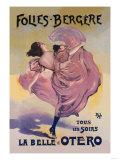 La Belle Otero: Folies-Bergere Posters