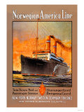 Norwegian-America Cruise Line Posters