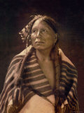 Grey Hawk, Taos Man Prints by Carl And Grace Moon