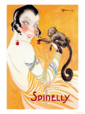 Spinelly Posters by Charles Gesmar