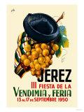 Jerez Fiesta de la Vendimia III Posters by  Nike