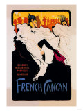 French Cancan Posters