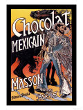 Masson: Chocolat Mexicain Art by Eugene Grasset