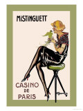 Mistinguett, Casino de Paris Prints by Charles Gesmar