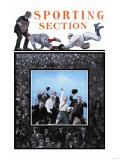 Sporting Section: Hooray! Premium Giclee Print