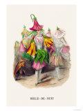 Belle-De-Nuit Posters by J.J. Grandville