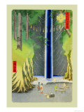 Waterfall Posters by Ando Hiroshige
