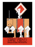 Charles Prelle's Animal Circus Posters
