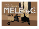 Mele and C Posters by Aleardo Terzi