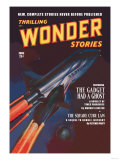 Thrilling Wonder Stories: Attack of the Ghost Fleet Prints