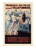 Telefonia Sin Hilos Sistema Telefunken Print