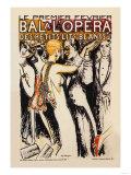 Bal a l'Opera Print