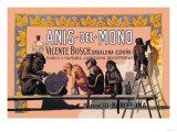 Anis del Mono Posters