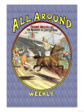 All Around Weekly: Frank Melville, The Wonder of the Circus Ring Posters
