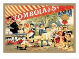 Tombola Prints by Théophile Alexandre Steinlen