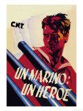 Sailor: A Hero Premium Giclee Print by Arturo Ballester