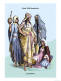Arab Women, 19th Century Posters by Richard Brown