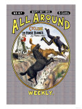 All Around Weekly: Cyclone, The Horse Runner Prints