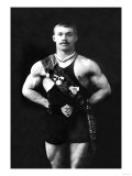 Bodybuilder in Sash Prints