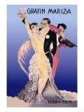 Grafin Mariza: A German Operetta Posters