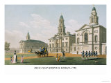 Blue-Coat Hospital Dublin, 1798 Prints by James Malton